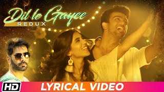 Dil Le Gayee Redux | Lyrical Video | Jasbir Jassi | Latest Indipop Song 2018