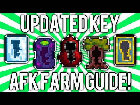 Terraria 1.2: How to get Key Molds! (UPDATED AFK FARM GUIDE) @demizegg