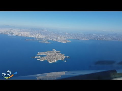 Approch, landing & taxi at Athens (ATH) - cockpit ✈
