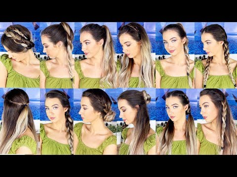13 HEATLESS HAIRSTYLES FOR BACK TO SCHOOL 2017