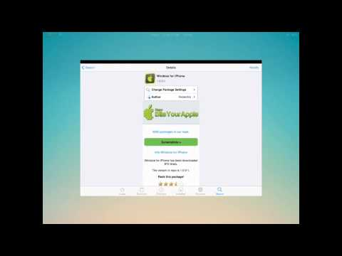 How To Get Windows On Your IPad/IPhone/IPod Touch!