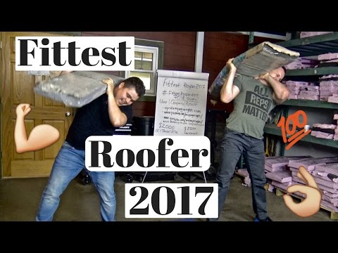 Fittest Roofer 2017 contest attempted by Dmitry Lipinskiy