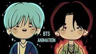 SUGA vs AGUST D Animation!