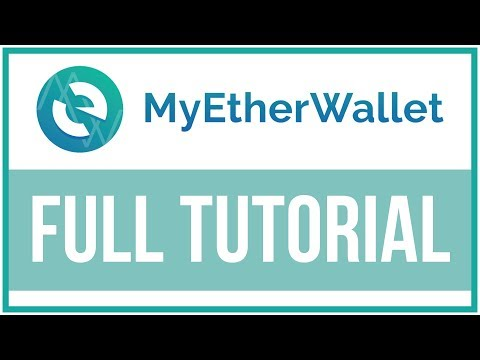 MyEtherWallet Full Tutorial - How To Use And Setup