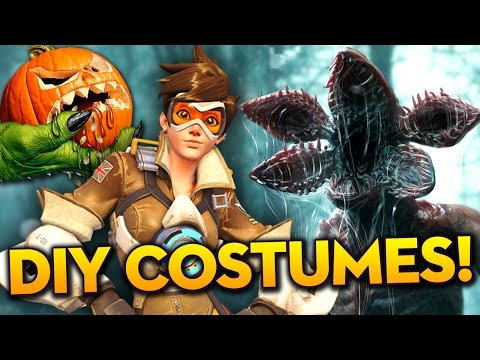 DIY Halloween Costumes! Ideas & How-To - (Overwatch, Stranger Things, Flash)