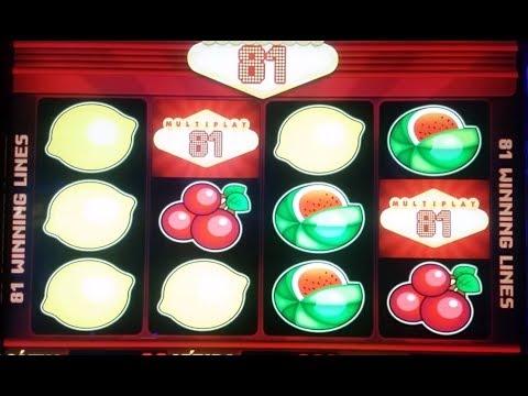 Live play on Multiplay 81 slot machine - NICE WIN!!!
