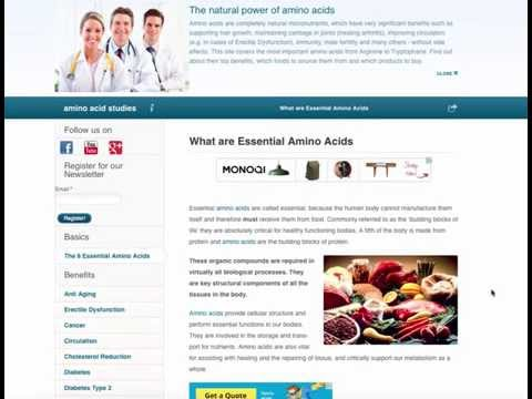 ARTICLE OVERVIEW: Essential Amino Acids EXPLAINED + Benefits ✓ + Roles ✓ + Foods ✓