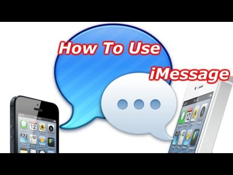 How To Use Imessage How To Turn Imessage On And Off