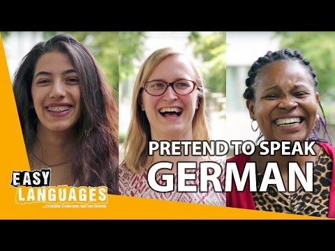 How does German sound to non-German speakers?
