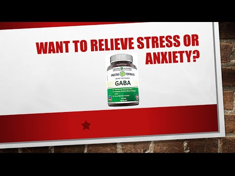 GABA Supplement Review/Relieve stress and anxiety and promote deep sleep