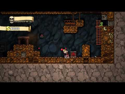 Destroyed in Spelunky