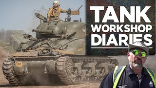 How to park 60 tanks | Ep. 5 | Tank Workshop Diaries | The Tank Museum