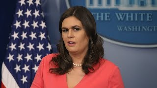 Watch LIVE White House Holds Press Briefing for Wed. July 18, 2018