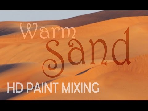 HD Paint Mixing - 'Warm Sand' Colour
