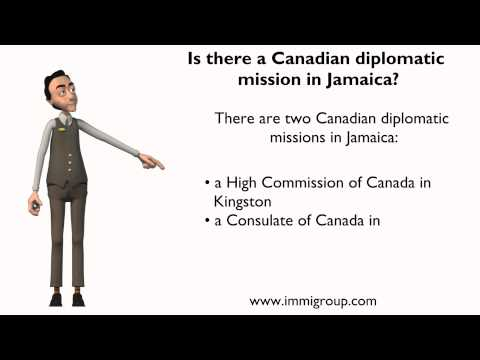 Is there a Canadian diplomatic mission in Jamaica?
