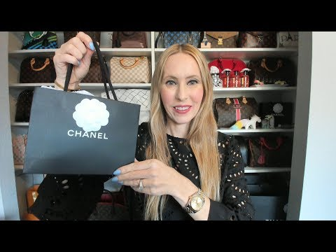 Chanel O Coin Purse Unboxing