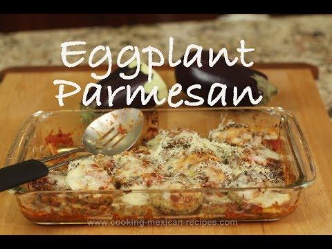 Easy Eggplant Parmesan | Rockin Robin Cooks