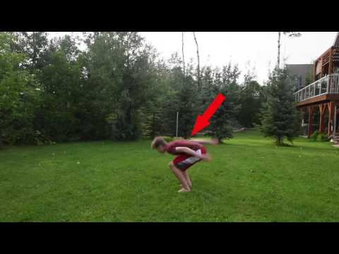 HOW TO BACKFLIP FLAT AND LAND IT