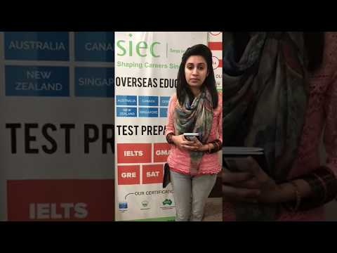Study in Canada   Student Testimonial after getting Study Visa for Canada Through SIEC Amritsar