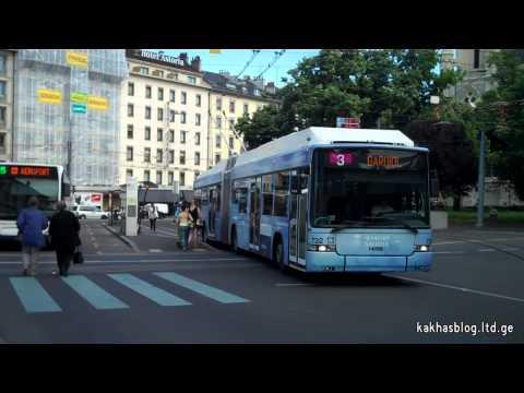 Trolleybuses in Geneva