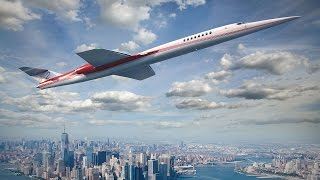 Is The Aerion Supersonic Business Jet Finally Set to Become a Reality? – AINtv