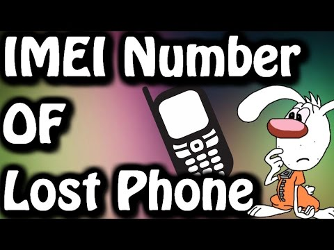 How To Find IMEI Number of Lost Phone ✔