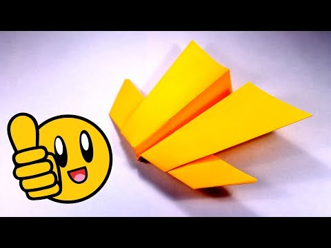 How to make super paper airplane that flies very very far. The best paper airplanes in the world!