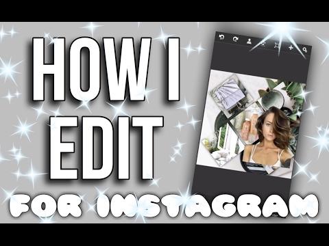 How I edit! | Instagram Fan Edits