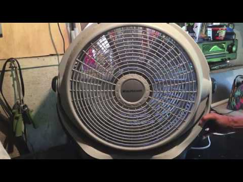 Lasko Wind Machine 3300 Fan Complete Disassembly/Cleaning