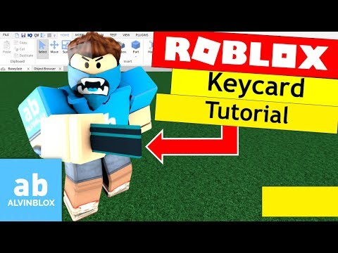 Roblox Scripting Tutorial - How To Make A Keycard Door