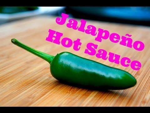 How To make Jalapeño Hot Sauce - HOT pepper recipe - Pitmaster X