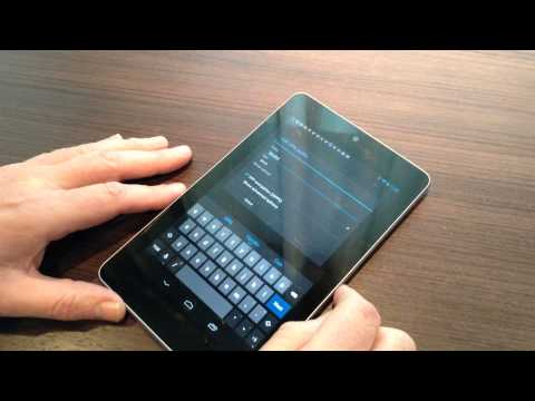 How to Configure a VPN on Nexus 7 Android