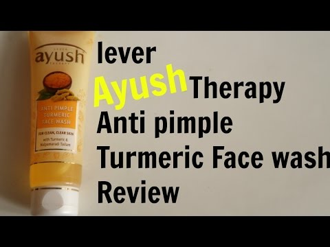 Ayush face wash Review in Hindi | Best face wash in India for acne prone skin| Naghma Syed