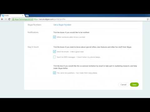How to Change Skype Email Address