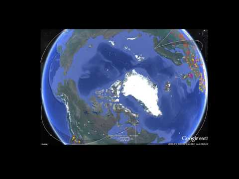 North Pole Missing: Google Maps, Hole at the North or Climate Change?