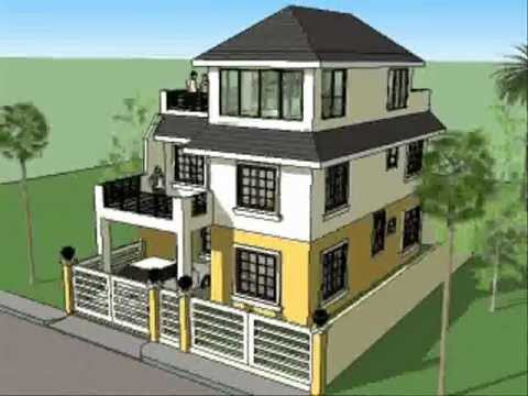 House Plan Designs - 3 Storey w/ Roofdeck
