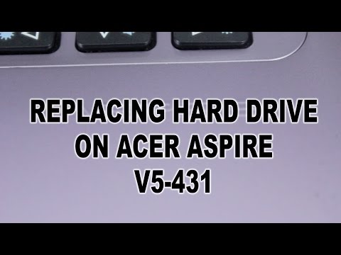 Replacing Acer Aspire V5-431 hard disc drive