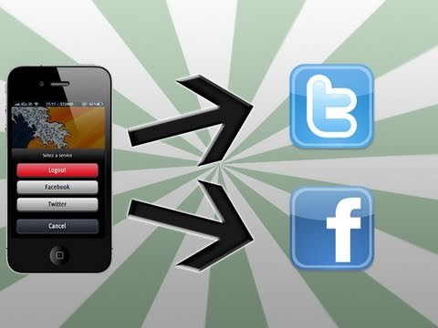 Post Photos On Twitter & Facebook From Photos App - iPhone, iPad & iPod Touch
