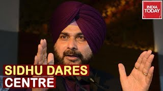 """""""Reply Or Will Go To Pakistan"""" Navjot Sidhu Dares Center On Delay In Reply 