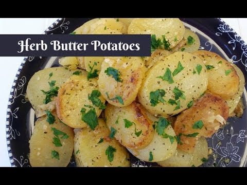 Herb Butter Potatoes ~ Cuckoo Multi-Cooker Electric Pressure Cooker ~ Amy Learns to Cook