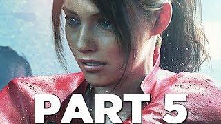 RESIDENT EVIL 2 REMAKE Walkthrough Gameplay Part 5 - HEART KEY (RE2 CLAIRE)