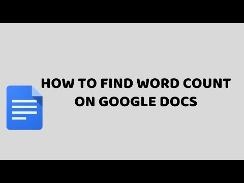 How To Find Word Count on Google Docs | Google Drive Easy Tutorials in Hindi
