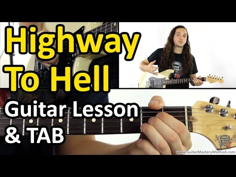 Highway To Hell Chords - Guitar Lesson & TAB