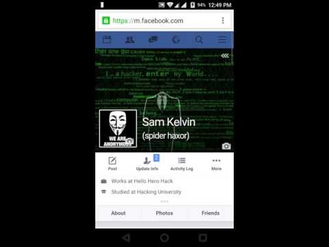how to hide friends on facebook using mobile
