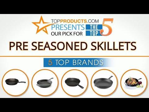 Best Pre Seasoned Skillet Reviews 2017 – How to Choose the Best Pre Seasoned Skillet