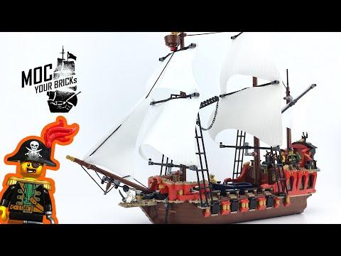 Lego pirate ship MOC