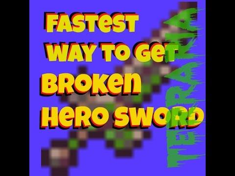 Fastest Way To Get Broken Hero Sword!! Must Watch
