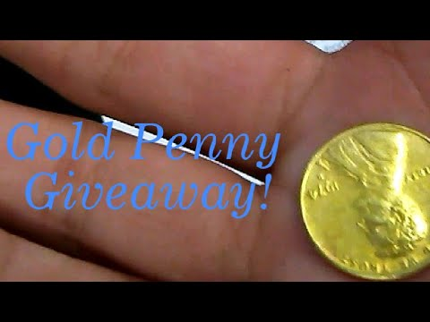 Honors Chemistry Experiment Pt.3 (Gold Penny Giveaway!)