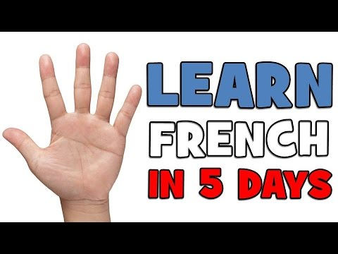 LEARN FRENCH IN 5 DAYS # DAY 1