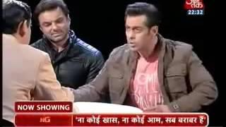 Aaj Tak.. Messing with Wrong Guy Dabang Salman Khan